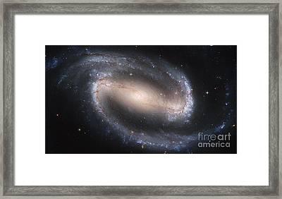 Spiral Galaxy Ngc 1300 Framed Print