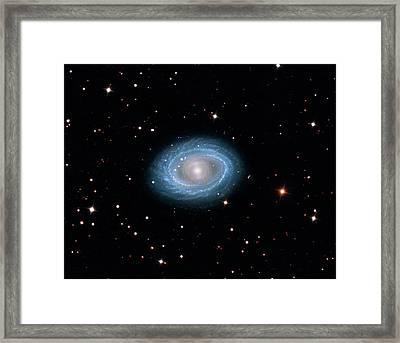Spiral Galaxy Ngc 1398 Framed Print