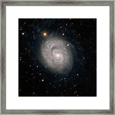 Spiral Galaxy Ngc 1637 Framed Print