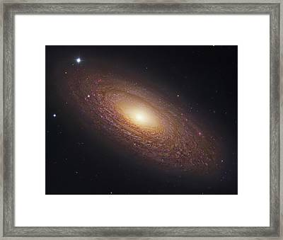 Spiral Galaxy Ngc 2841 Framed Print by Celestial Images