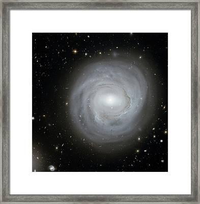Spiral Galaxy Ngc 4921 Framed Print by Nasa/esa/stsci/k. Cook, Llnl