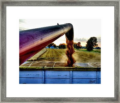 Spiral In Time Framed Print