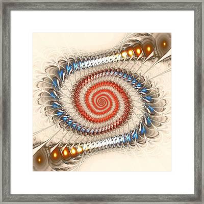 Spiral Journey Framed Print by Anastasiya Malakhova