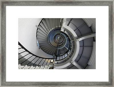Framed Print featuring the photograph Spiral by Laurie Perry