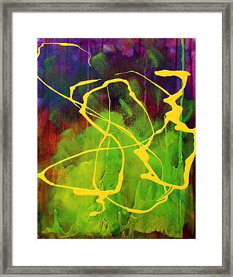 Spiral Framed Print by Nancy Merkle