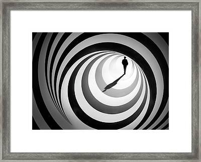 Spiral Of Life 2 Framed Print