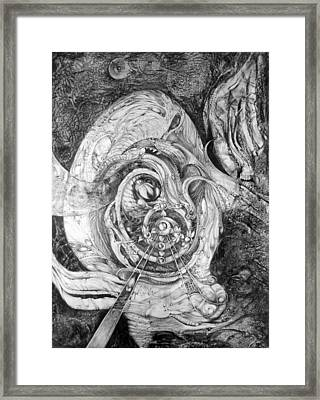 Spiral Rapture 2 Framed Print