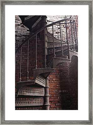 Spiral Staircase Depot Framed Print