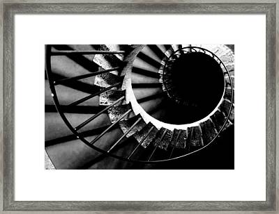 Spiral Staircase Framed Print by Fabrizio Troiani