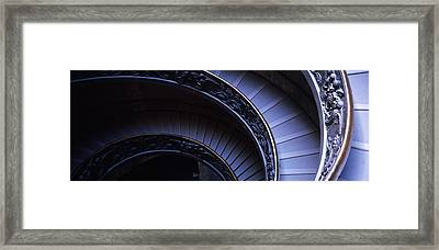 Spiral Staircase, Vatican Museum, Rome Framed Print by Panoramic Images