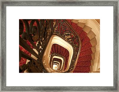 Spiral Stairs Framed Print by Ivete Basso Photography
