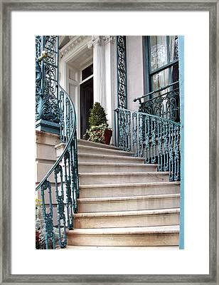 Spiral Stairs Framed Print by Sarah-jane Laubscher