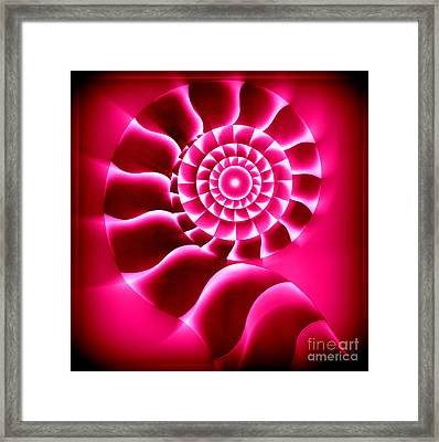 Spiral Trip Framed Print by Kenneth Clarke