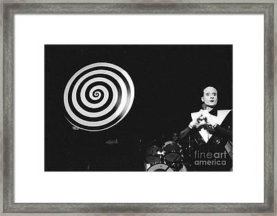 spiral universe of Klaus Framed Print by Steven Macanka