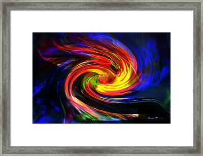 Spiral1 Framed Print by Gunter Nezhoda