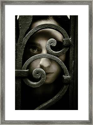Spirals Framed Print by Cambion Art