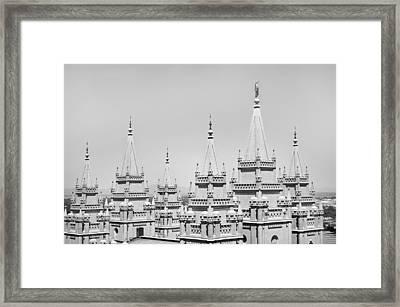 Spires Framed Print by Jamie Fedele