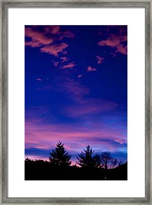Spirit Above Framed Print by Kevin Bone