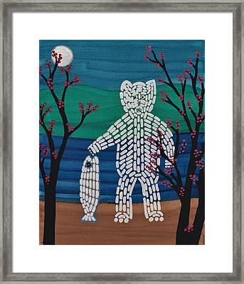 Spirit Bear Bella Coola Framed Print