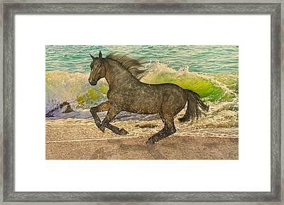 Spirit Imagined Framed Print by Betsy Knapp