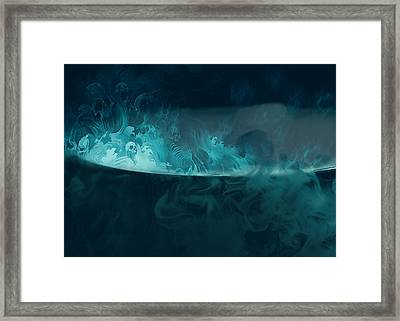 Spirit Brew Framed Print by Juli Scalzi