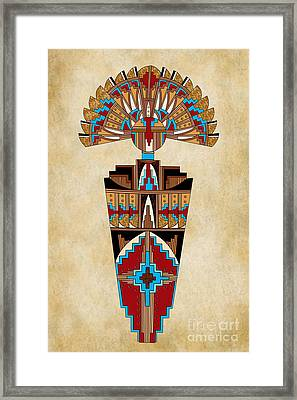 Spirit Chief Framed Print