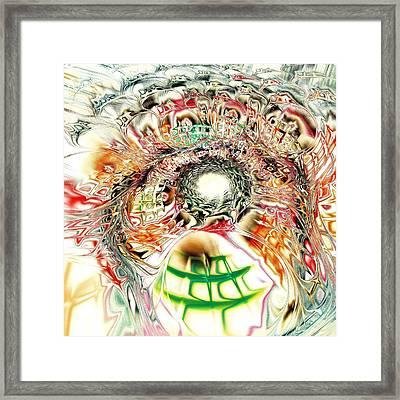 Spirit Crowd Framed Print by Anastasiya Malakhova