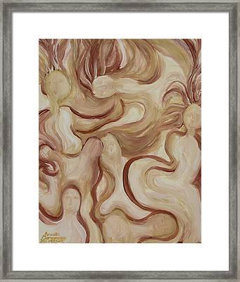 Spirit Dance Framed Print