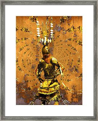 Spirit Dance Framed Print by Kurt Van Wagner
