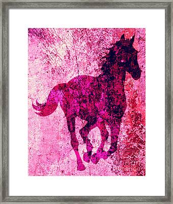 Spirit Equus  Framed Print by Mindy Bench