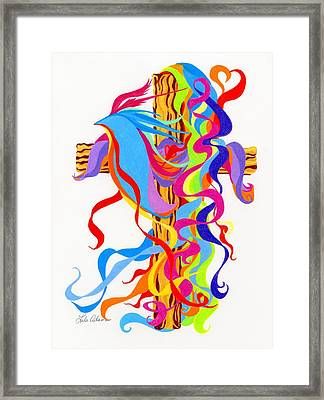 Spirit Filled Framed Print by Lula Adams