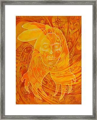 Spirit Fire Framed Print