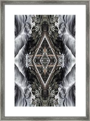 Spirit Gathering Framed Print by Dawn J Benko