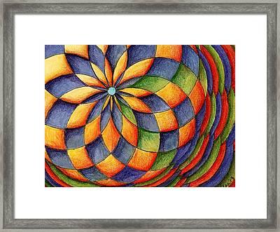 Spirit Glow Framed Print
