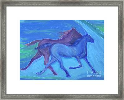 Spirit Guide By Jrr Framed Print by First Star Art
