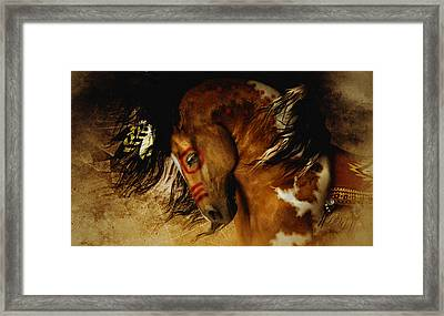 Spirit Horse Framed Print by Shanina Conway