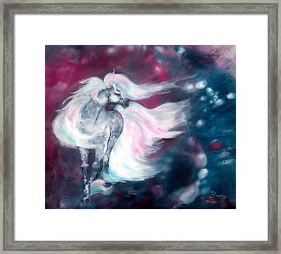 Spirit Horse Framed Print by Sherry Shipley