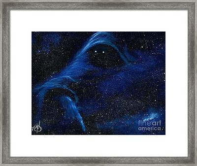 Spirit In Space Framed Print by Murphy Elliott