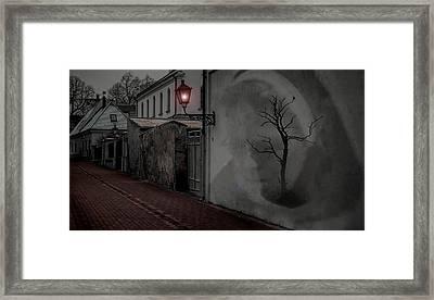 Spirit In The Night Framed Print by Barbara R MacPhail