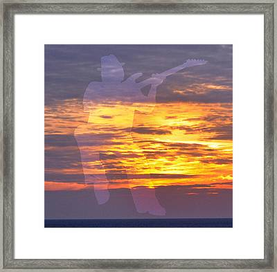 Spirit In The Sky Framed Print by Eric Kempson