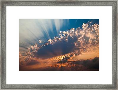 Framed Print featuring the photograph Spirit In The Sky by Jack Bell