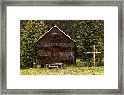 Framed Print featuring the photograph Spirit In The Woods by Sandi Mikuse