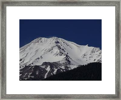 Spirit Mountain Framed Print by Condor