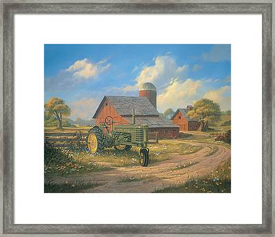 Spirit Of America Framed Print by Michael Humphries