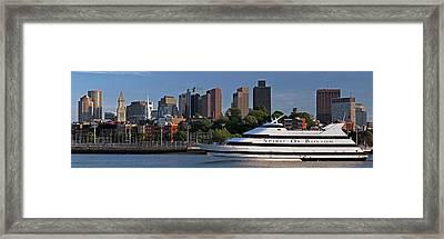 Spirit Of Boston Framed Print