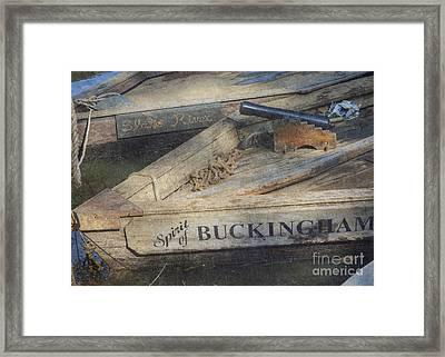 Framed Print featuring the photograph Spirit Of Buckingham by Pete Hellmann