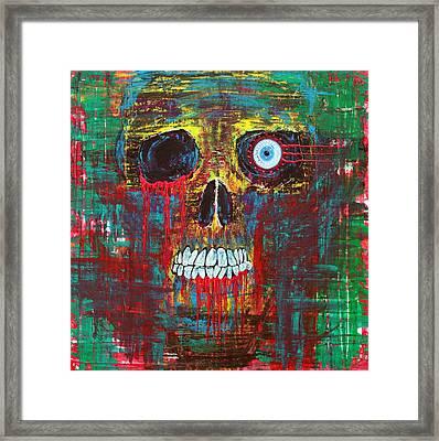 Spirit Of Davy Jones Framed Print by Laura Barbosa