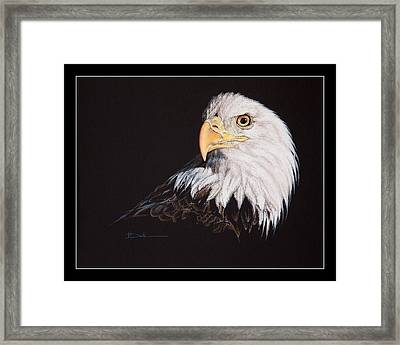 Spirit Of Freedom Bald Eagle Framed Print