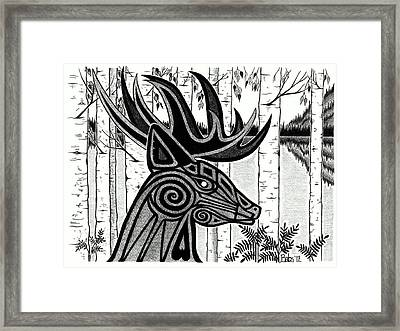 Spirit Of Gentle Strength Framed Print