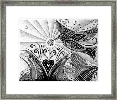 Spirit Of Joy  Framed Print